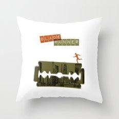 Blade Runner Throw Pillow