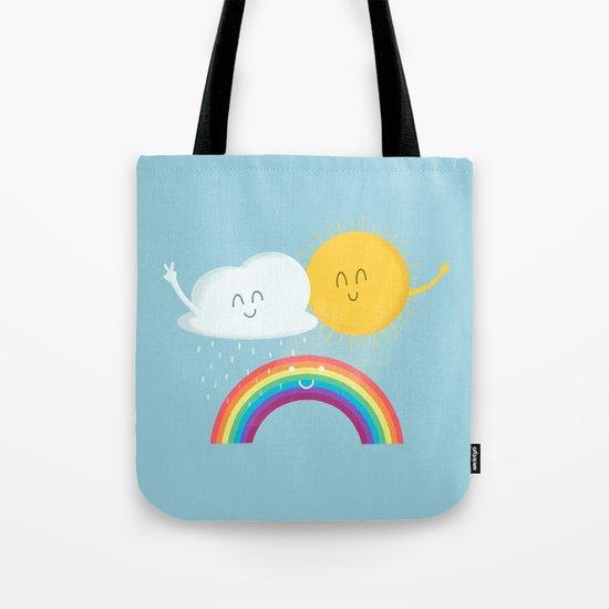 Rainbow's Family Tote Bag