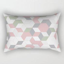 modern tiles Rectangular Pillow