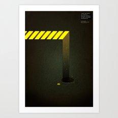 Asphalt: Facebook Shapes & Statuses Art Print