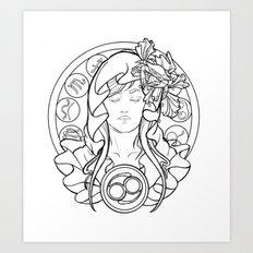 Zodiac Series | Cancer Art Print