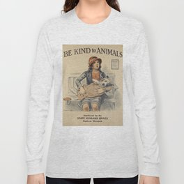 Be Kind To Animals 4 Long Sleeve T-shirt