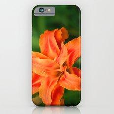 Fire orange lily  iPhone 6s Slim Case