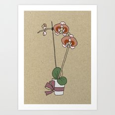 orchid nr1 Art Print