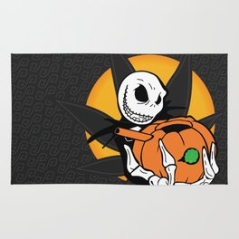 Jack's Pumpkin Bong Rug