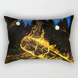 Camp Fire Rectangular Pillow