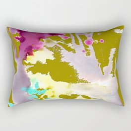 FISH IN MUSTARD SAUCE Rectangular Pillow