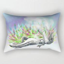 weed trex Rectangular Pillow