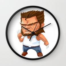 Mini Wolverine Wall Clock