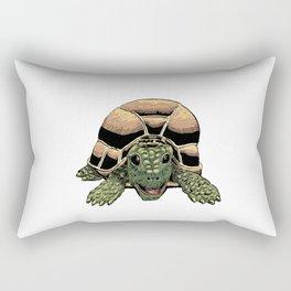 Happy Tortoise Rectangular Pillow