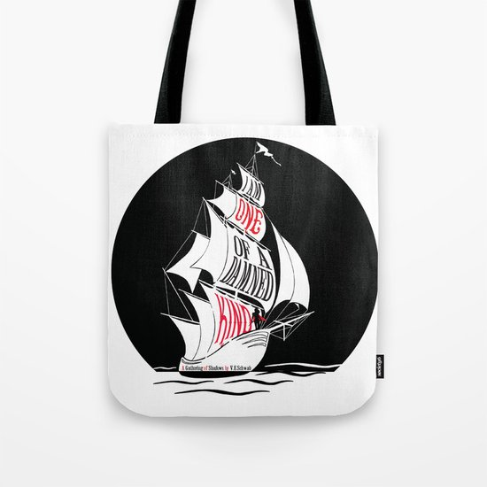 A Gathering of Shadows - One of a Damn Kind Tote Bag