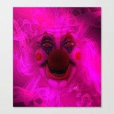 Cotton Candy Clown Canvas Print