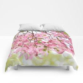 pink dogwoods Comforters