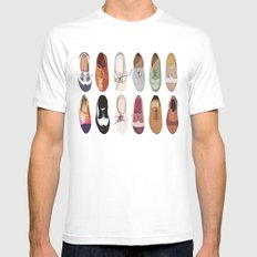 Oxfords Mens Fitted Tee MEDIUM White