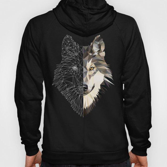 Mixed Wolf Hoody