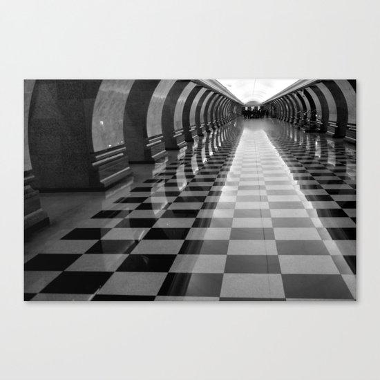 Moscow Metra Canvas Print