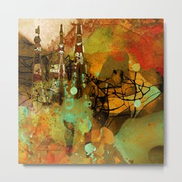 The last mohicans Metal Print