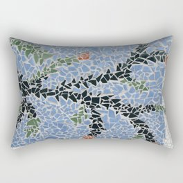 Totara Berry Mosaic Rectangular Pillow