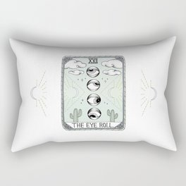 The Eye Roll Rectangular Pillow