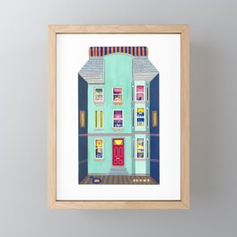 Tenement Life Framed Mini Art Print