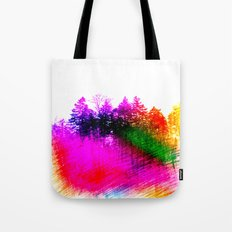 Rainbow Grove Tote Bag