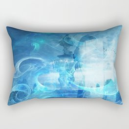 BETWEEN THE PLANES IN TIME TRAVEL Rectangular Pillow