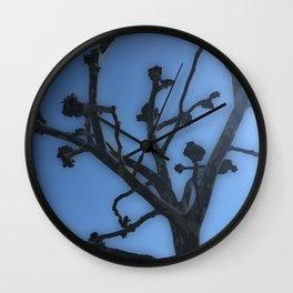 Complex Tree Wall Clock