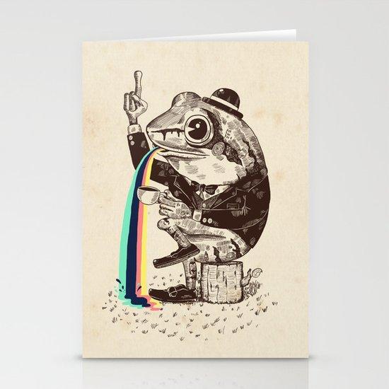 Strange Frog Stationery Cards