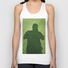 Shadow Man Unisex Tank Top