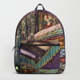 Princess and the Pea By Edmund Dulac Backpack