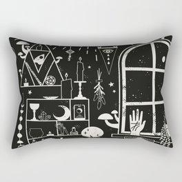 Moon Altar Rectangular Pillow