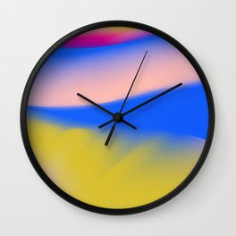 Aurora lights Wall Clock