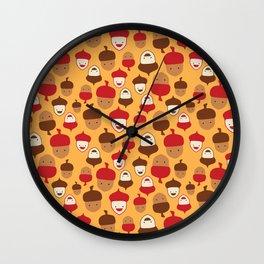 The Mighty Acorns II Wall Clock