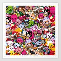 Supercombo #2 Art Print