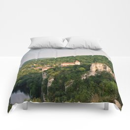 Saint Cirq Lapopie Comforters