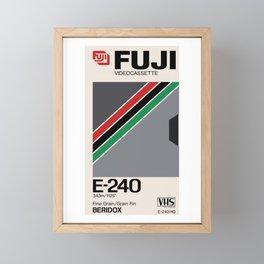 FUJI VHS Framed Mini Art Print