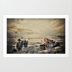 The Gold Field Art Print