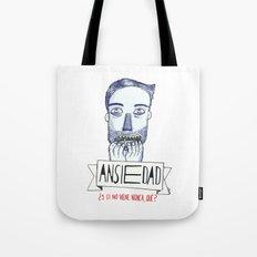 Ansiedad (Anxiety) Tote Bag