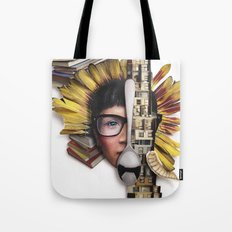 Timber | Collage Tote Bag