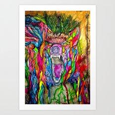 Guardian of Owl Farm Art Print