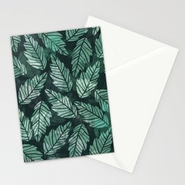 Colorful leaves IV Stationery Cards