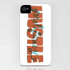 Hustle & Prolificacy Slim Case iPhone (4, 4s)