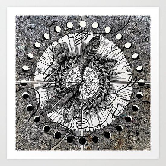Wax On Art Print