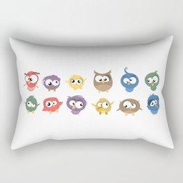 Ugly Birds Rectangular Pillow