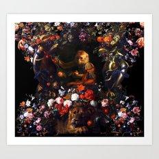 Prince Monkey Art Print