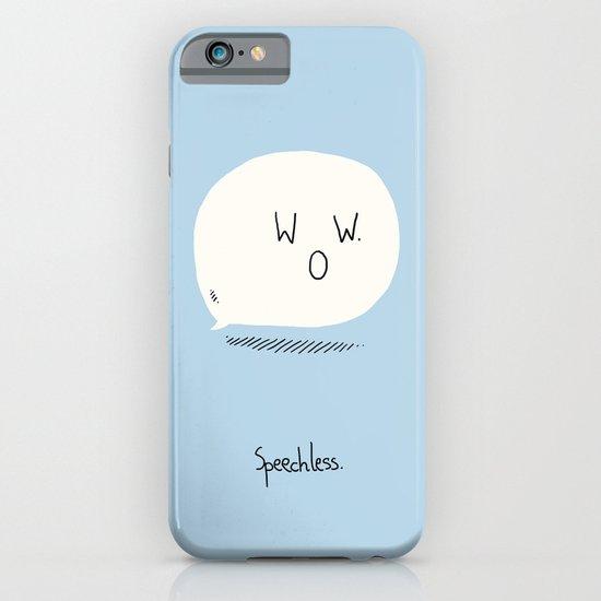 Speechless. iPhone & iPod Case