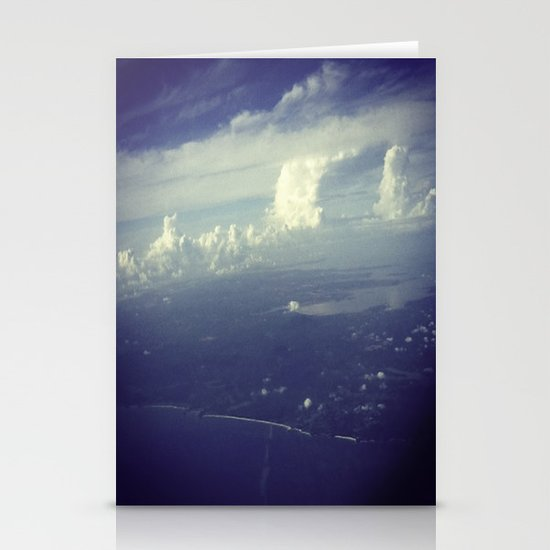 Sky Surfing Stationery Cards
