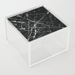 Silver Splatter 090 Acrylic Box