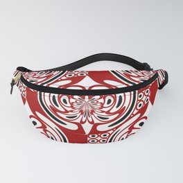 Three colors pattern Fanny Pack