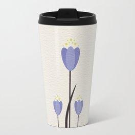 Minimal Bluebells Travel Mug